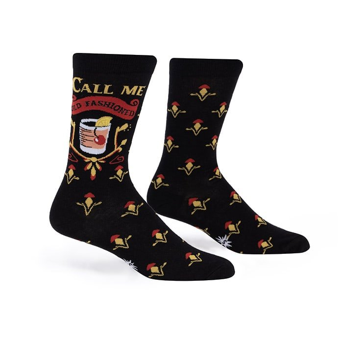Call Me Old Fashioned Men's Crew Socks